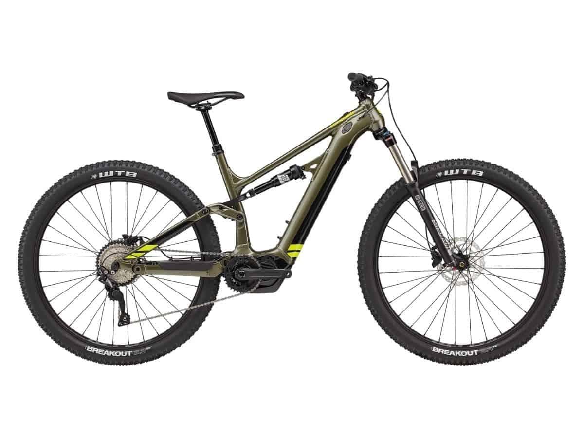 Cannondale Moterra Neo 5 electric mountain bike.