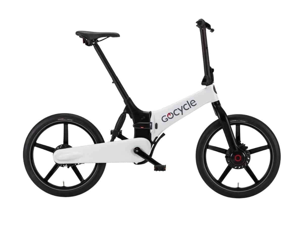 Gocycle G4 folding electric bike.
