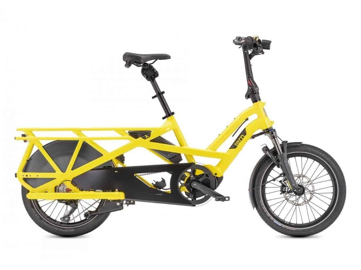 Tern GSD S10 LX foldable electric bike.