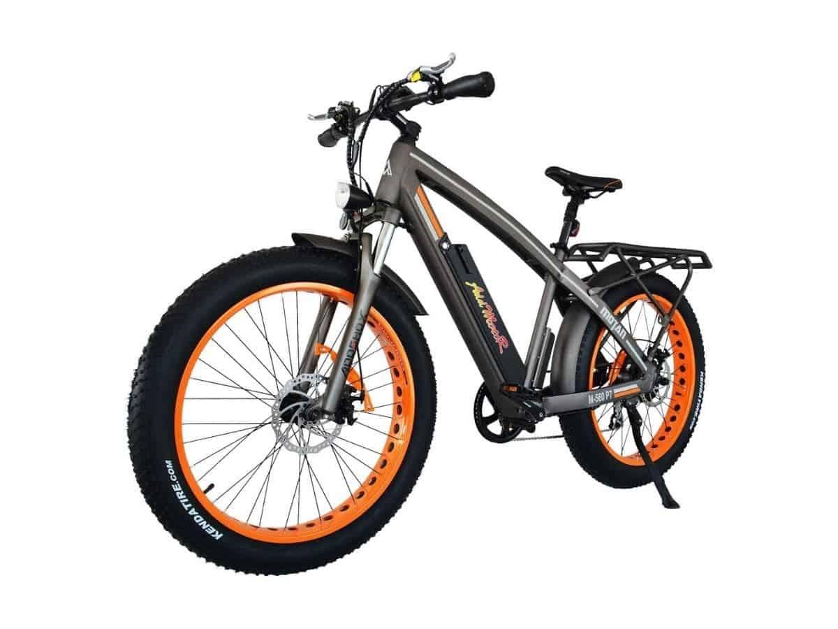 Addmotor fat tire electric bike.