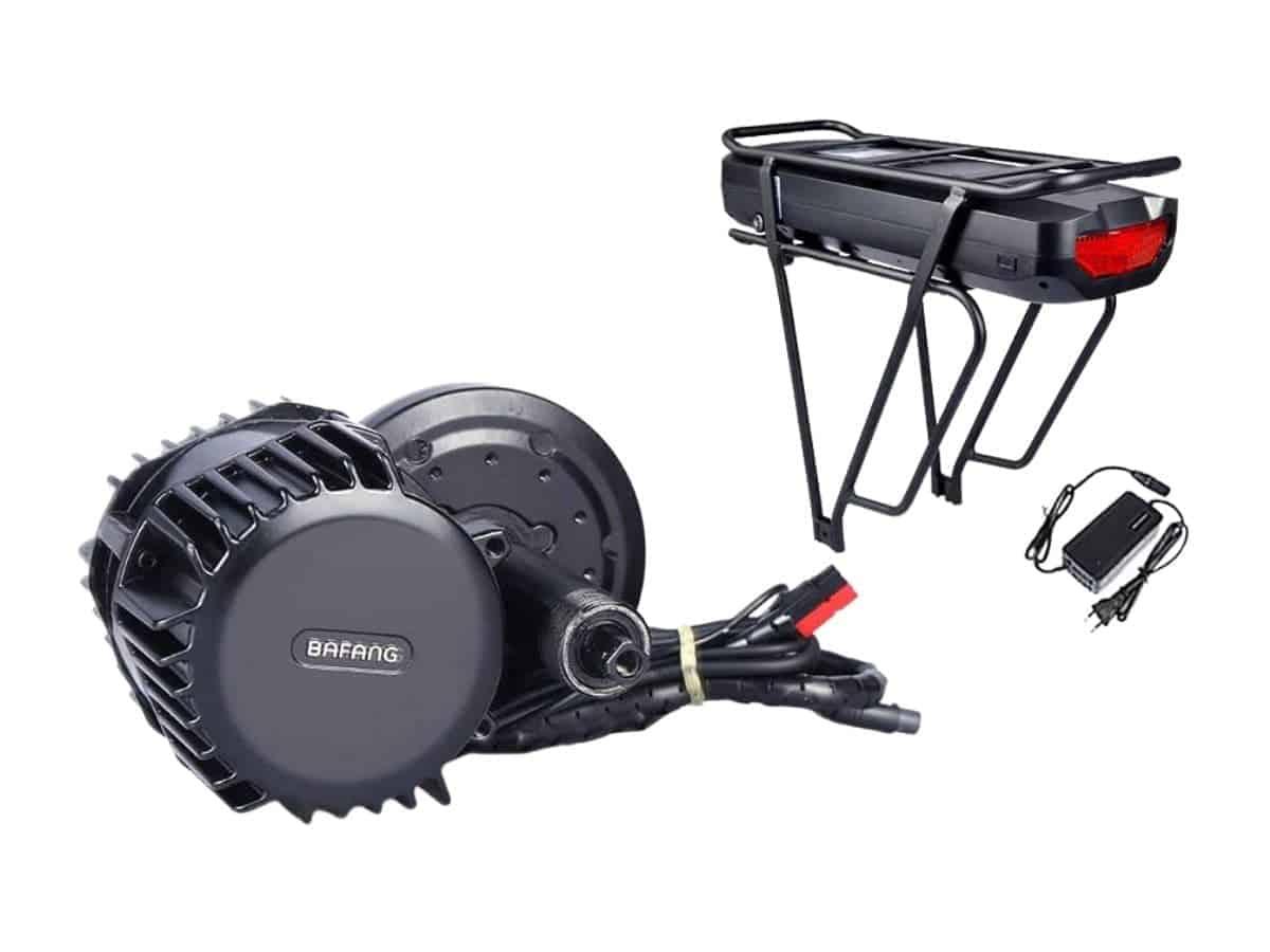 Bafang 8Fun electric bike conversion kit.