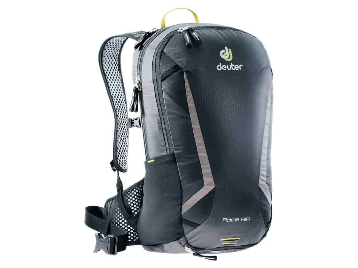Deuter 10-liter hydration backpack.