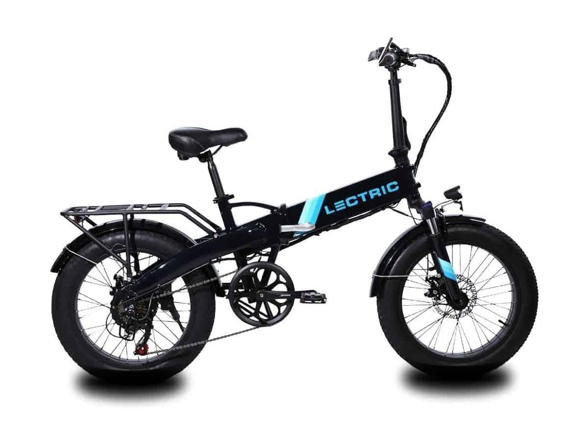 Lectric folding fat tire electric bike.