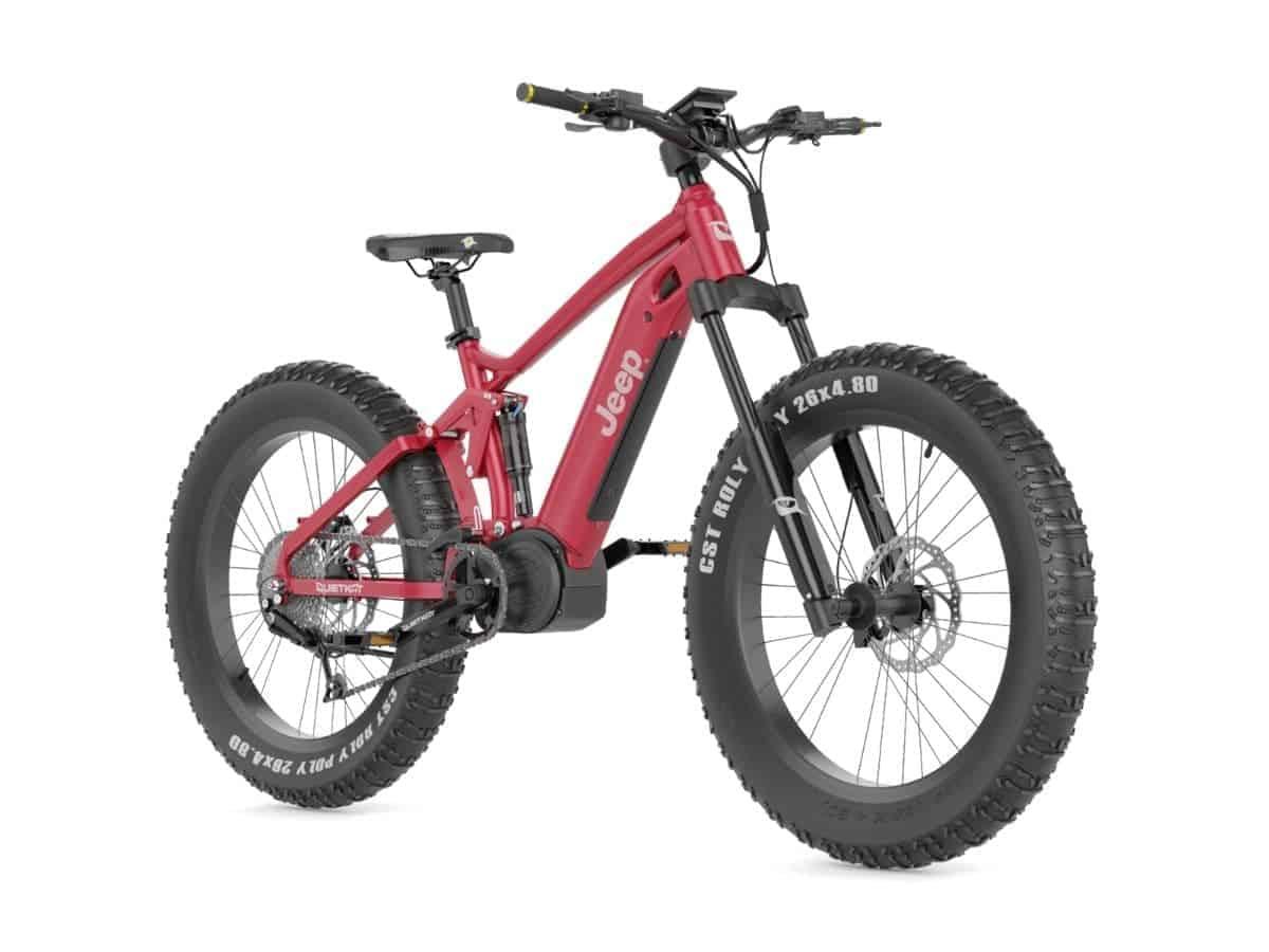 QuietKat fat tire electric bike.