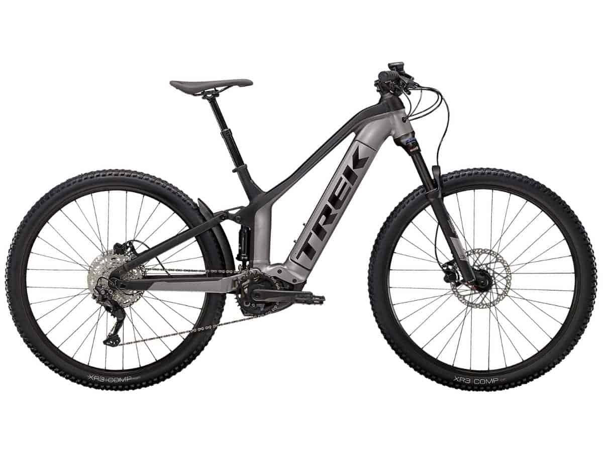 Side of the Trek Powerfly FS 4 electric mountain bike.